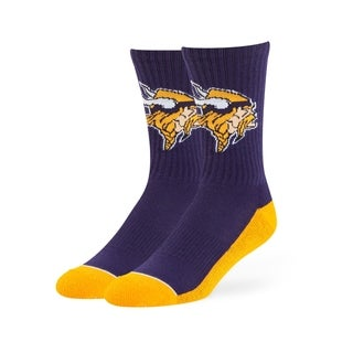 Fan Favorite NFL Minnesota Vikings Anthem Crew Socks