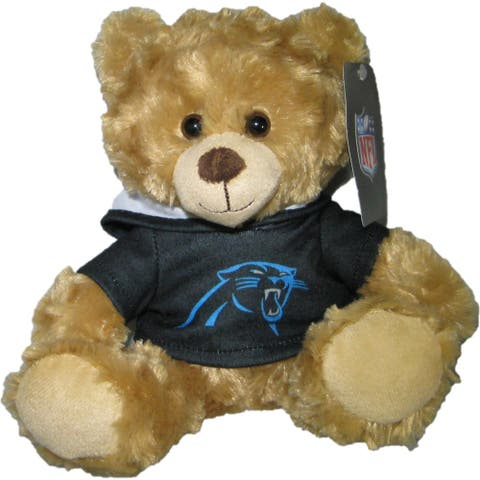 NFL Carolina Panthers 9-inch Rally Hoodie Teddy Bear