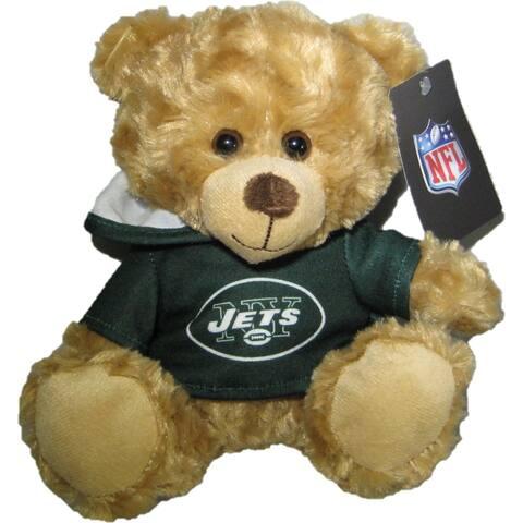 NFL New York Jets 9-inch Rally Hoodie Teddy Bear