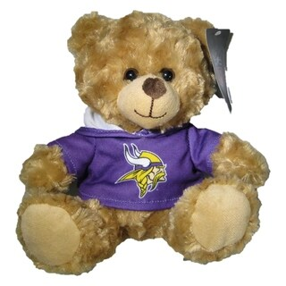 NFL Minnesota Vikings 9 Inch Rally Hoodie Teddy Bear