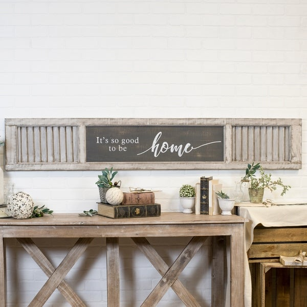 """Wood sign """"Home"""""""