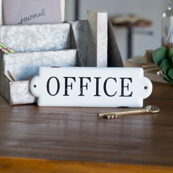 """Metal sign """"Office"""""""