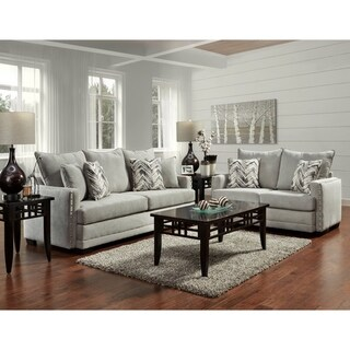 Sofa Trendz Bellisima Silver Sofa & Loveseat Set