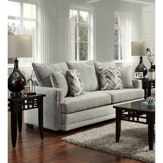 Sofa Trendz Bellisima Silver Sofa