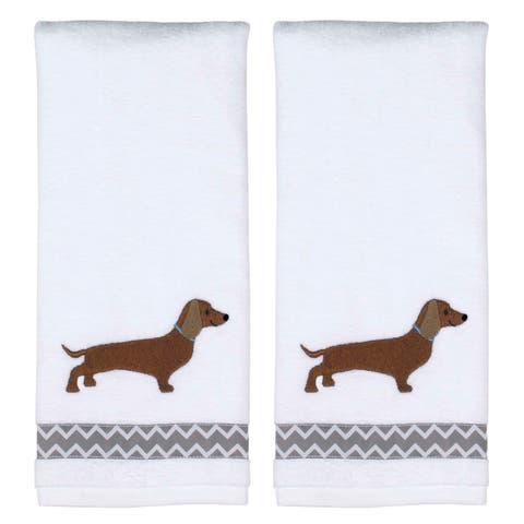 Dachshund 2 Pc Hand Towl Set