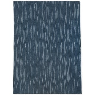 MASSALIA Blue Area Rug By Kavka Designs