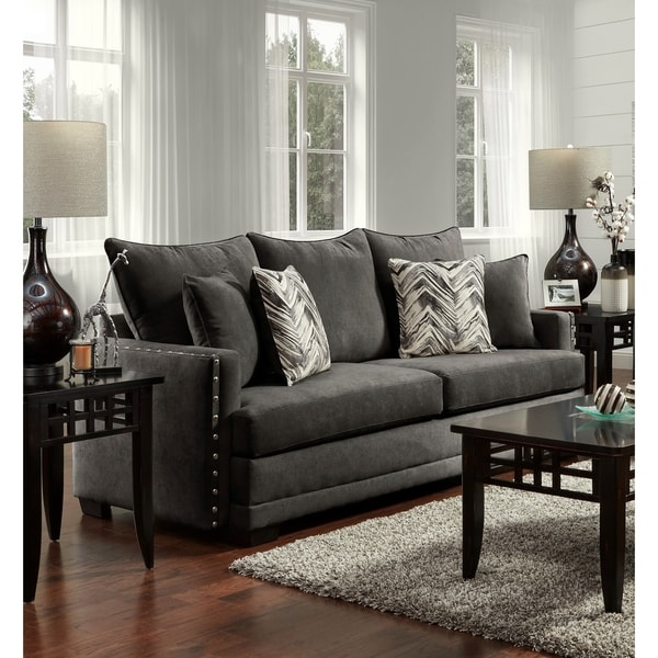 Excellent Sofa Trendz Blanca Charcoal Sofa Download Free Architecture Designs Scobabritishbridgeorg