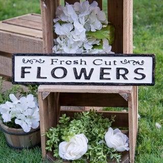"""Metal sign """"Flowers"""""""