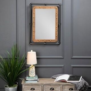Eastside Industrial Metal Wall Mirror