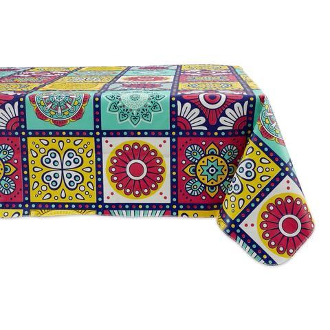 DII Summer Vinyl Tablecloth