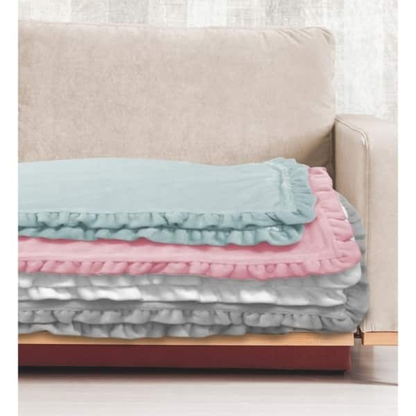 Shop The Gray Barn Orchard Cottage Shabby Chic Royal Plush Throw