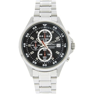 Link to Seiko Men's SKS627 Classic Chronograph Stainless Steel Watch Similar Items in Men's Watches