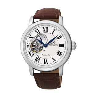 Link to Seiko Men's SSA231 Classic Brown Leather Watch Similar Items in Men's Watches