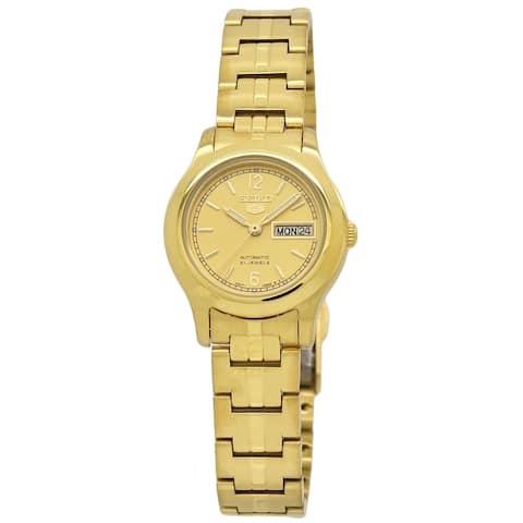 Seiko Women's SYME02 Seiko 5 Gold-Tone Stainless Steel Watch