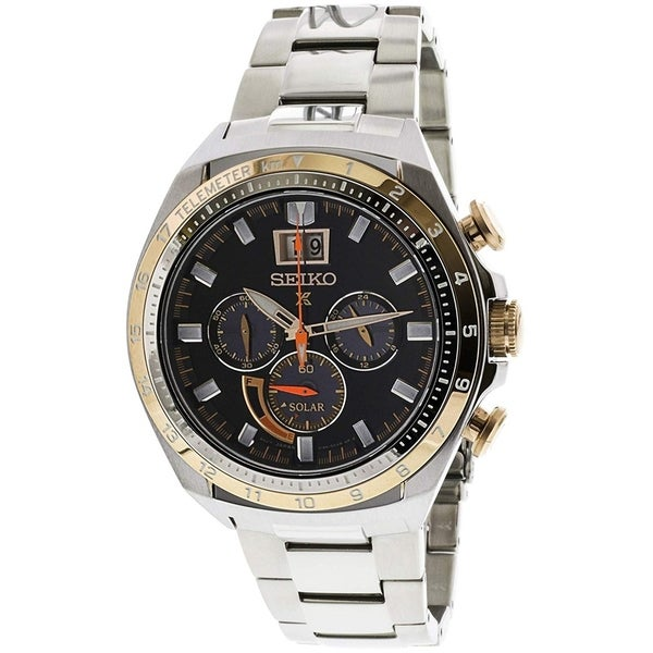 Seiko Men's SSC664 Prospex Chronograph Stainless Steel Watch. Opens flyout.
