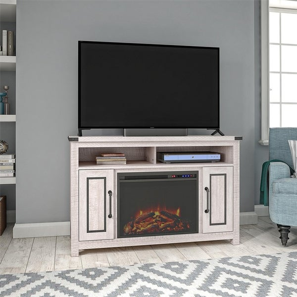 Avenue Greene Pryor Fireplace TV Stand for TVs up to 48 inches