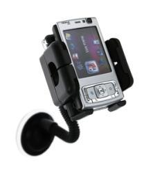 Eforcity Universal Swivel Windshield Phone Holder for Nokia N95 - Thumbnail 2