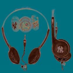 Nemo Digital MLF10118NYY MLB New York Yankees Headphones