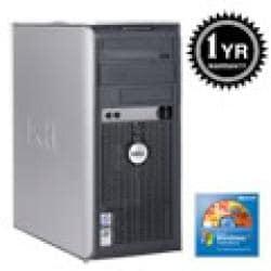 Dell Optiplex 745 Penitum D 3.4Ghz 2G 400GB XP Pro PC (Refurbished) - Thumbnail 1