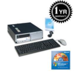 HP DC7700 Core 2 Duo 1.86Ghz 2G 400GB XP Pro Desktop (Refurbished) - Thumbnail 1