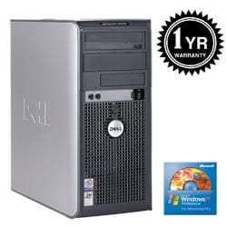 Dell Optiplex 745 Penitum D 3.4Ghz 2G 400GB XP Pro PC (Refurbished) - Thumbnail 2