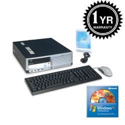 HP DC7700 Core 2 Duo 1.86Ghz 2G 400GB XP Pro Desktop (Refurbished) - Thumbnail 2