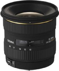Sigma 10-20mm f/4-5.6 EX DC HSM Autofocus Super Wide Angle Zoom Lens - Thumbnail 1