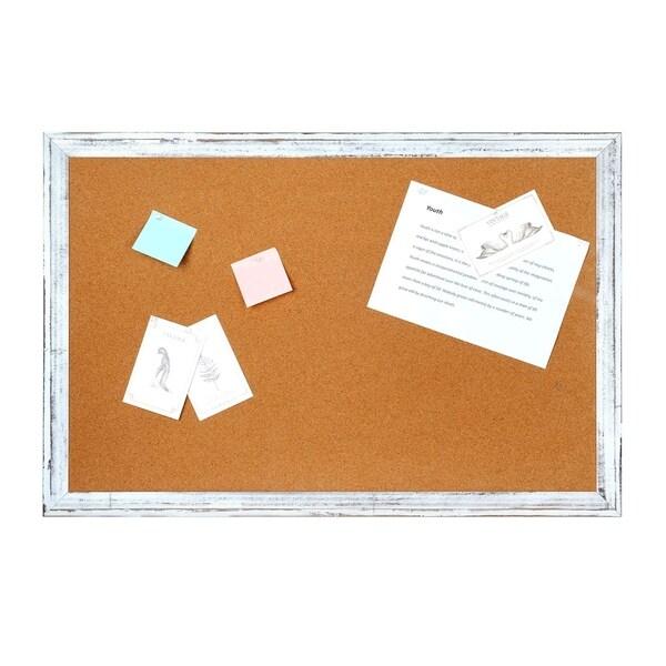 "Wall Magnetic Dry Erase White Board, 36"" x 24"" Aluminium Frame & Tray"