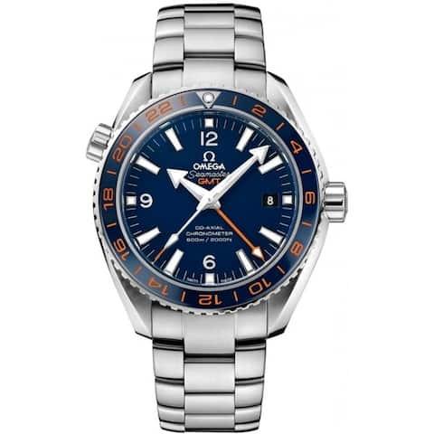 Omega Men's 232.30.44.22.03.001 'Seamaster Planet Ocean' Stainless Steel Watch