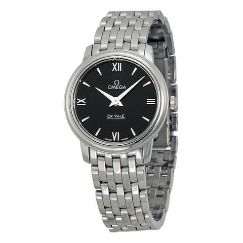 Omega Women's 424.10.27.60.01.001 'De Ville Prestige' Stainless Steel Watch