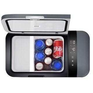 Glitzhome 20 Liter 21 Quart Portable Refrigerator Freezer