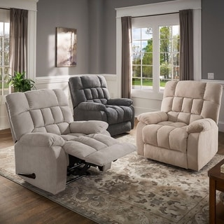 Edward Fabric Recliner by iNSPIRE Q Classic