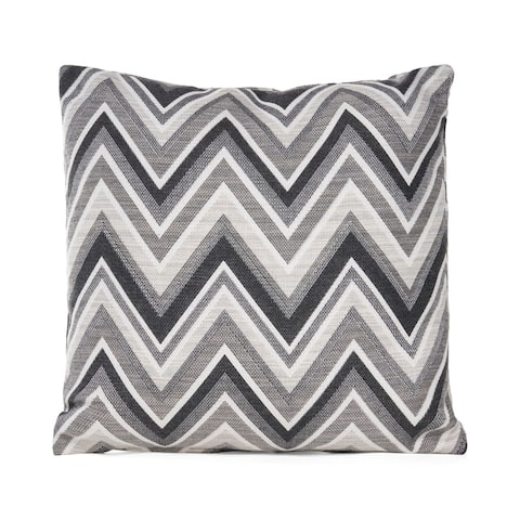 Knowles Outdoor Modern Sunbrella Throw Pillow by Christopher Knight Home