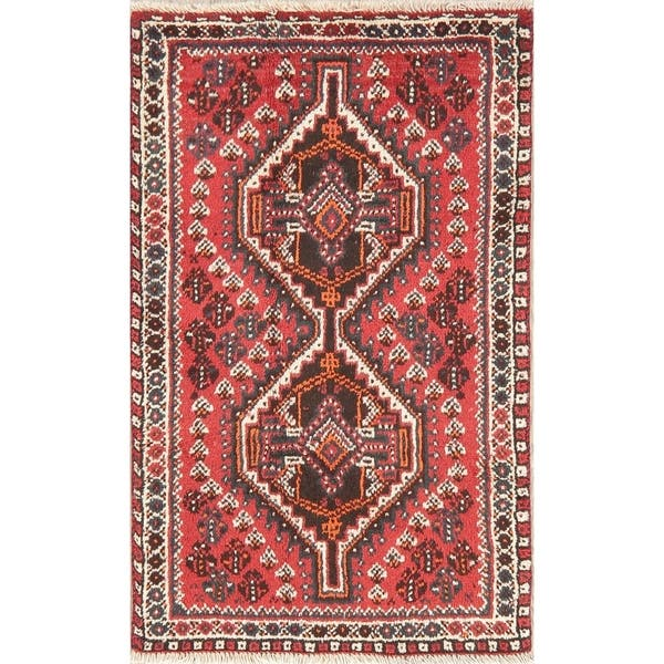 Shop Nomadic Tribal Abadeh Rug Border Oriental Hand Knotted