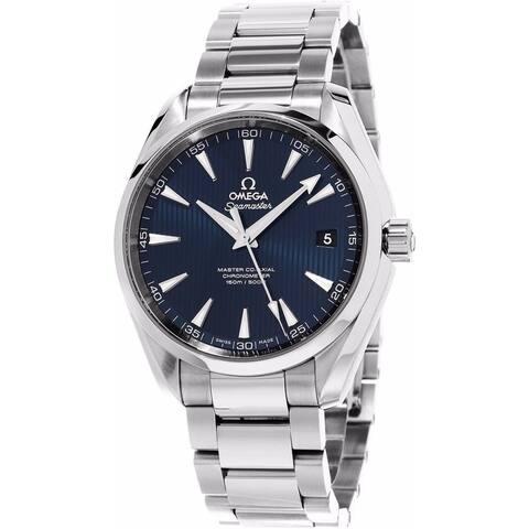 Omega Men's 231.10.42.21.03.003 'Seamaster Aqua Terra' Stainless Steel Watch