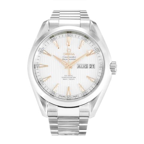 Omega Men's 231.10.43.22.02.003 'Seamaster Aqua Terra Annual Calendar' Stainless Steel Watch