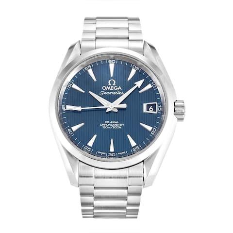 Omega Men's 231.10.39.21.03.001 'Seamaster Aqua Terra' Stainless Steel Watch