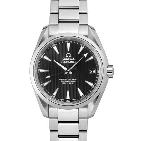 Omega Men's 231.10.39.21.01.002 'Seamaster Aqua Terra' Stainless Steel Watch