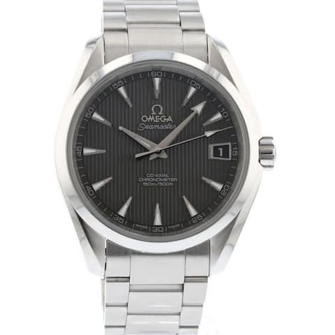 Omega Men's 231.10.39.21.06.001 'Seamaster Aqua Terra' Stainless Steel Watch