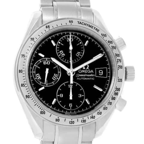 Omega Men's 3513.50.00 'Speedmaster' Chronograph Stainless Steel Watch
