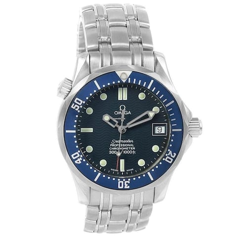 Omega Men's 2551.80.00 'Seamaster' Stainless Steel Watch
