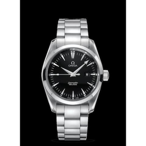 Omega Men's 2517.50.00 'Seamaster Aqua Terra' Stainless Steel Watch