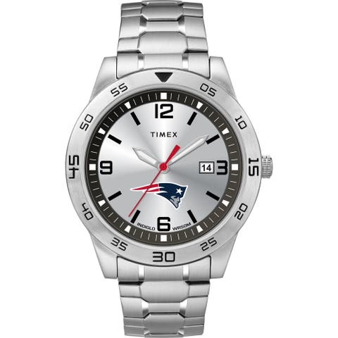 Timex NFL Tribute Collection New England Patriots Citation Men's Watch