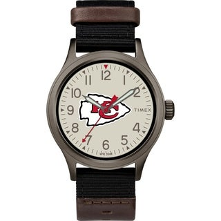 Timex NFL Tribute Collection Kansas City Chiefs Clutch Men S Watch