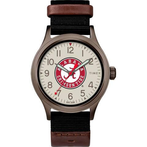 Timex NCAA Tribute Collection Alabama Crimson Tide Clutch Men's Watch
