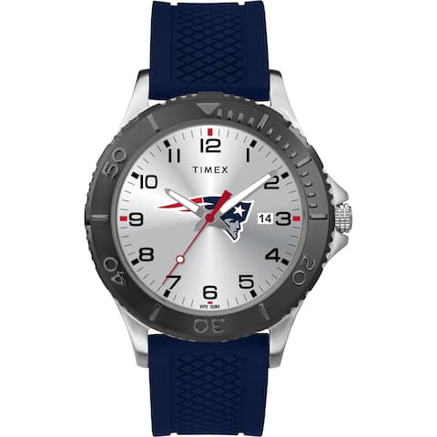 Timex NFL Tribute Collection New England Patriots Gamer Blue Men's Watch