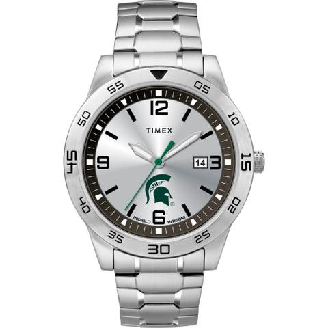 Timex NCAA Tribute Collection Michigan State Spartans Citation Men's Watch