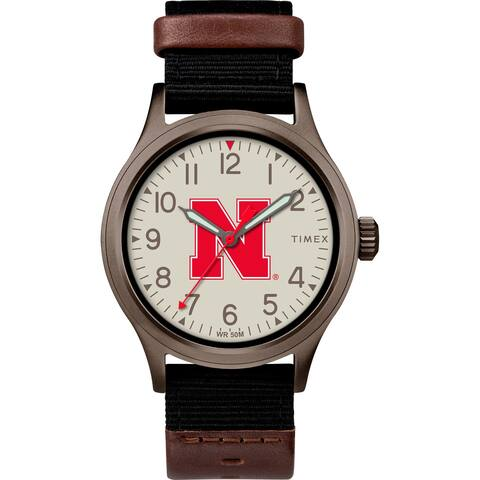 Timex NCAA Tribute Collection Nebraska Cornhuskers Clutch Men's Watch
