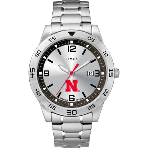 Timex NCAA Tribute Collection Nebraska Cornhuskers Citation Men's Watch