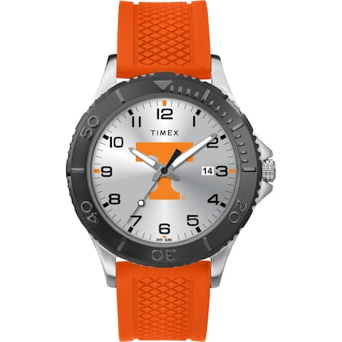Timex NCAA Tribute Collection Tennessee Volunteers Gamer Black Men's Watch